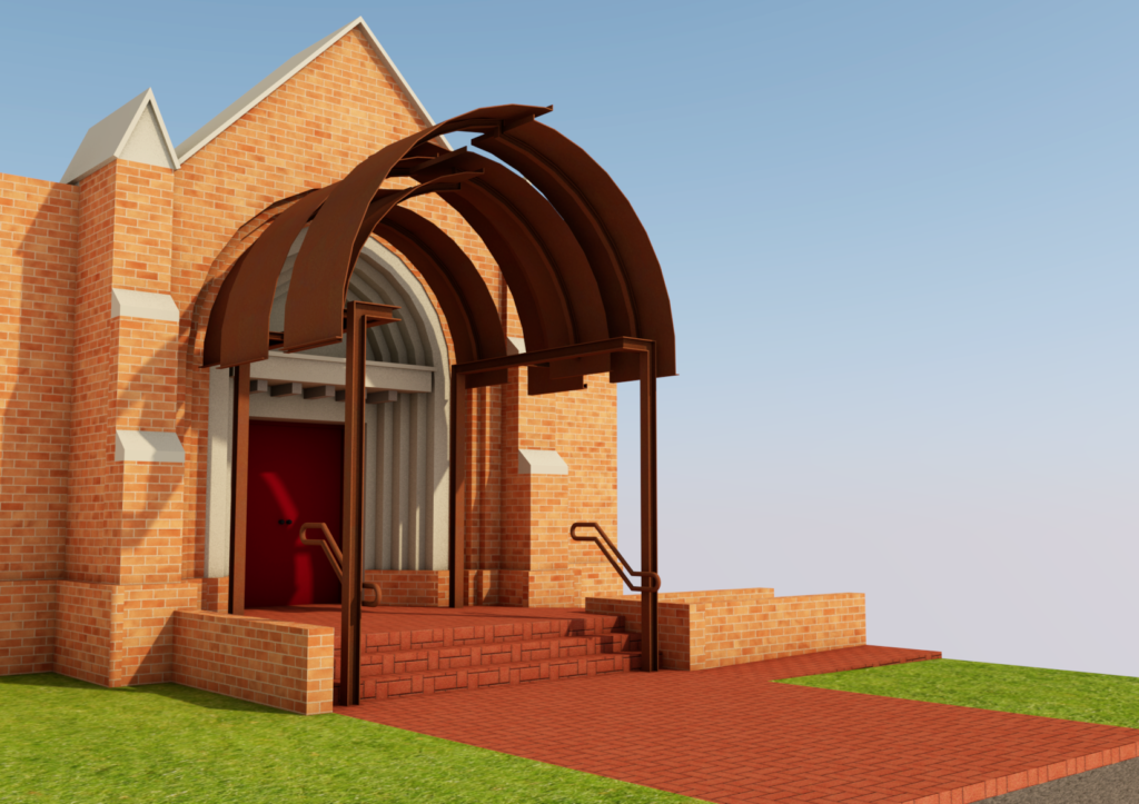 church portico design jiri lev